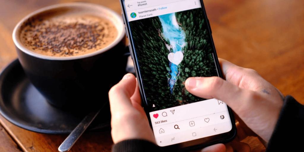 communiquer instagram interaction
