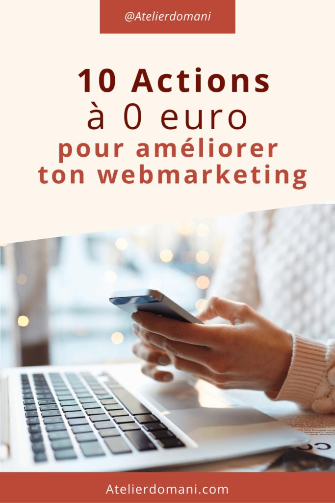 actions gratuites web marketing