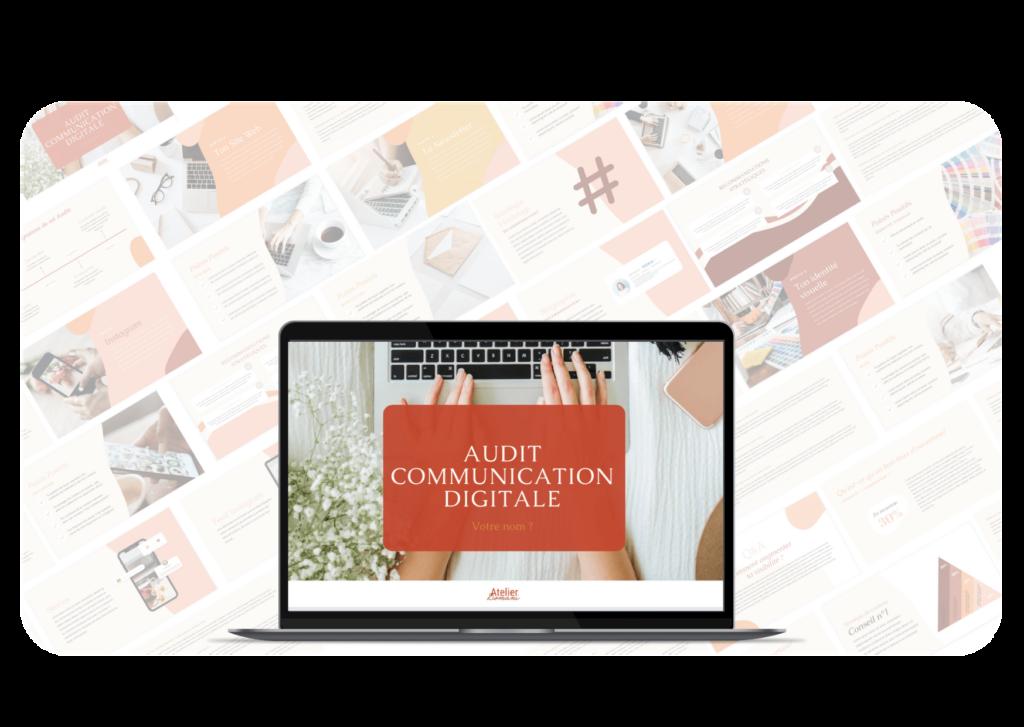 audit communication digitale
