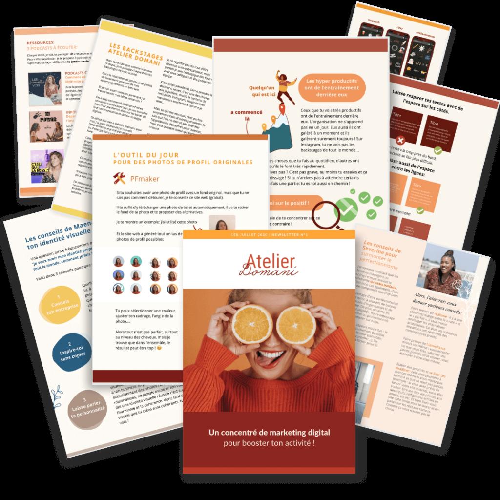 Newsletter Marketing digital