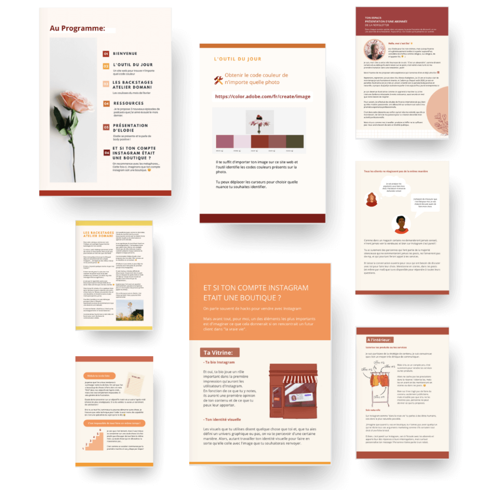 Newsletter Atelier Domani
