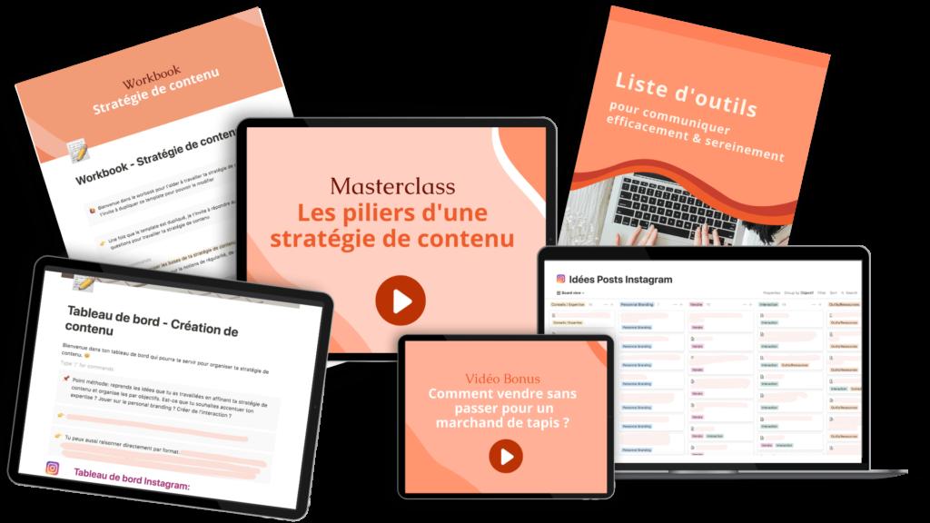 bundle stratégie de contenu